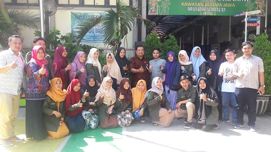 observasi ke Pulau jawa, mahasiswa Jurusan kesehatan masyarakat belajar sanitasi tempat umum.